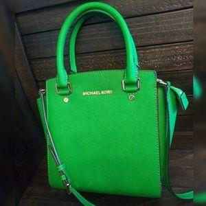 NWOT: Michael Kors Selma Small Satchel Bag